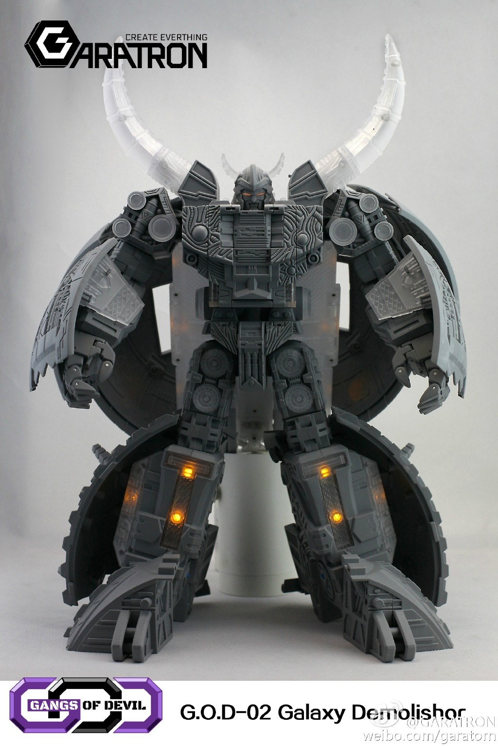 Garatron 3rd Party Unicron Revealed! - Transformers News