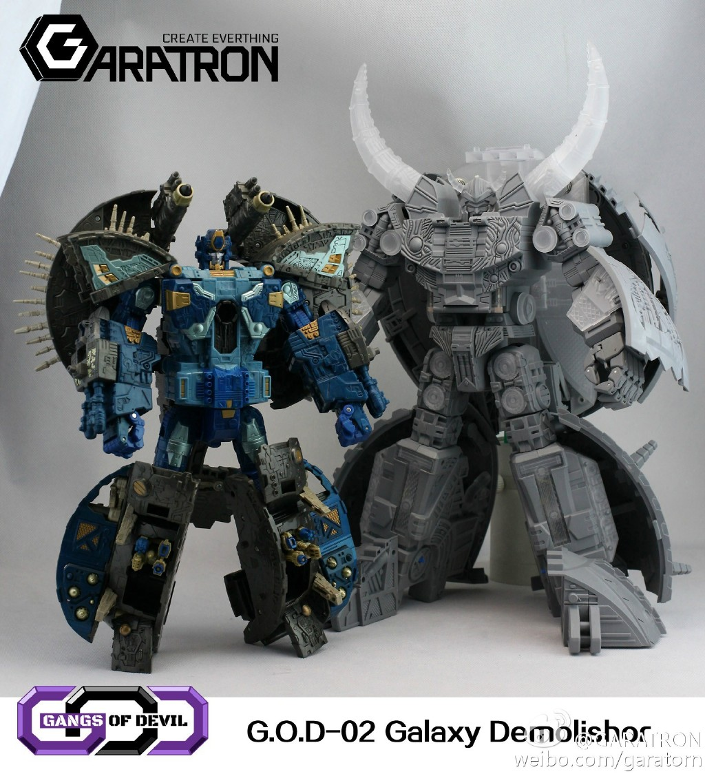 Garatron 3rd Party Unicron Revealed! - Transformers News ...