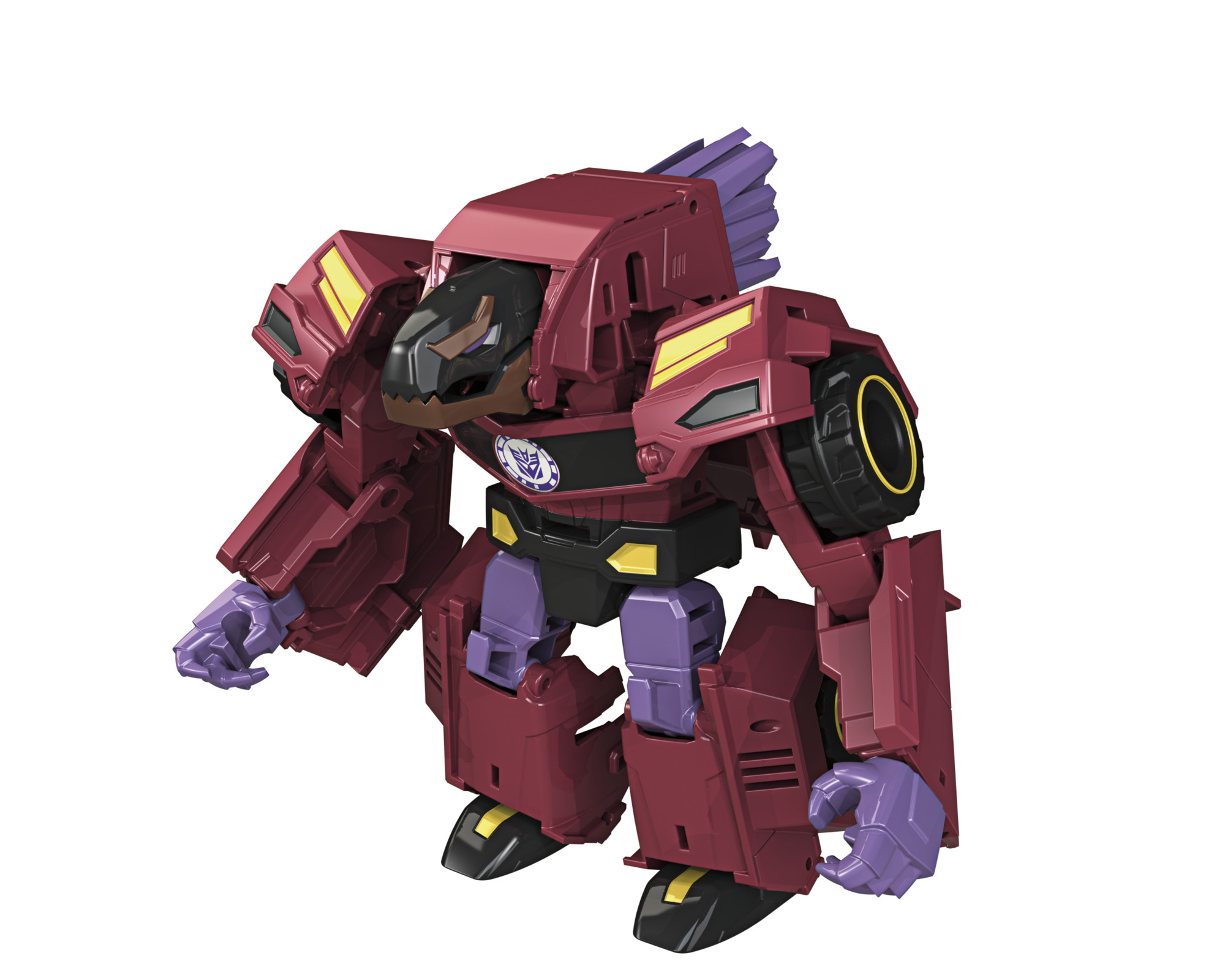 Robots in Disguise Warriors Ratchet Scatterspike and Bisk