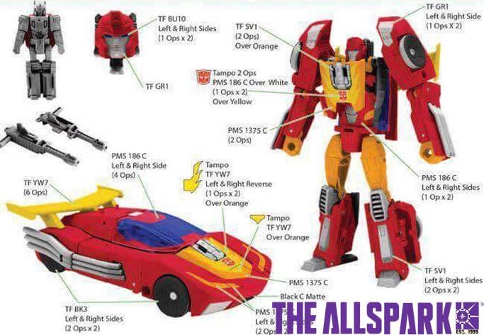 Transformers Titans Return HOT ROD Complete Deluxe Rodimus