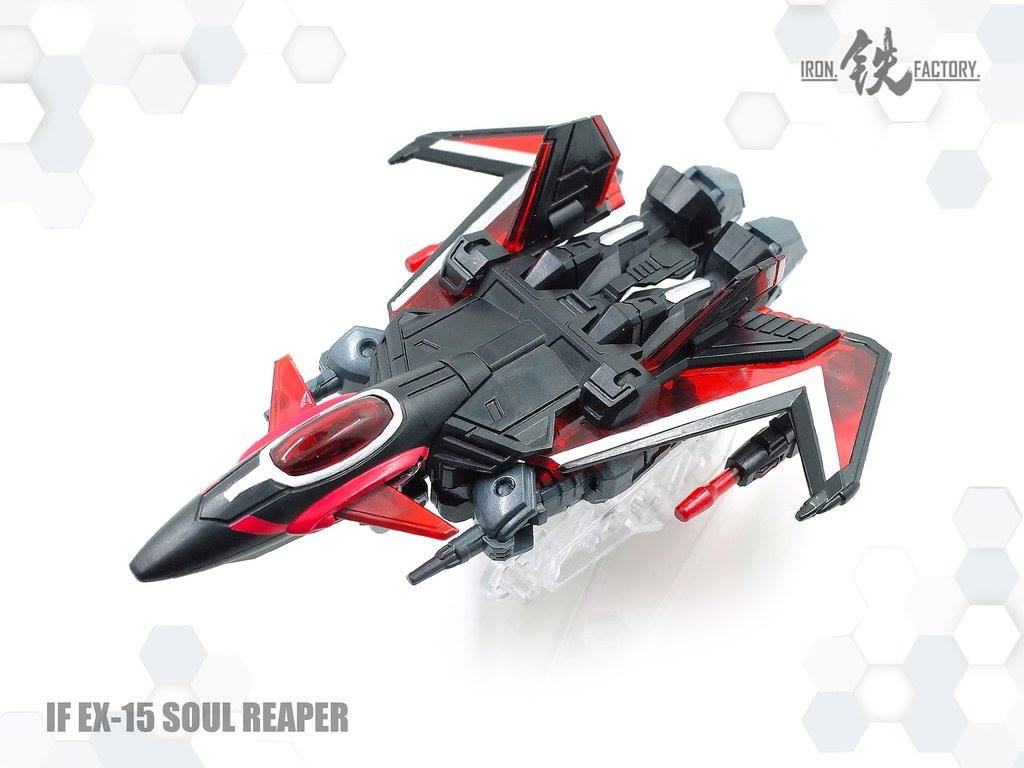 Iron Factory IF-EX15 Soul Reaper (Black Shadow) Color
