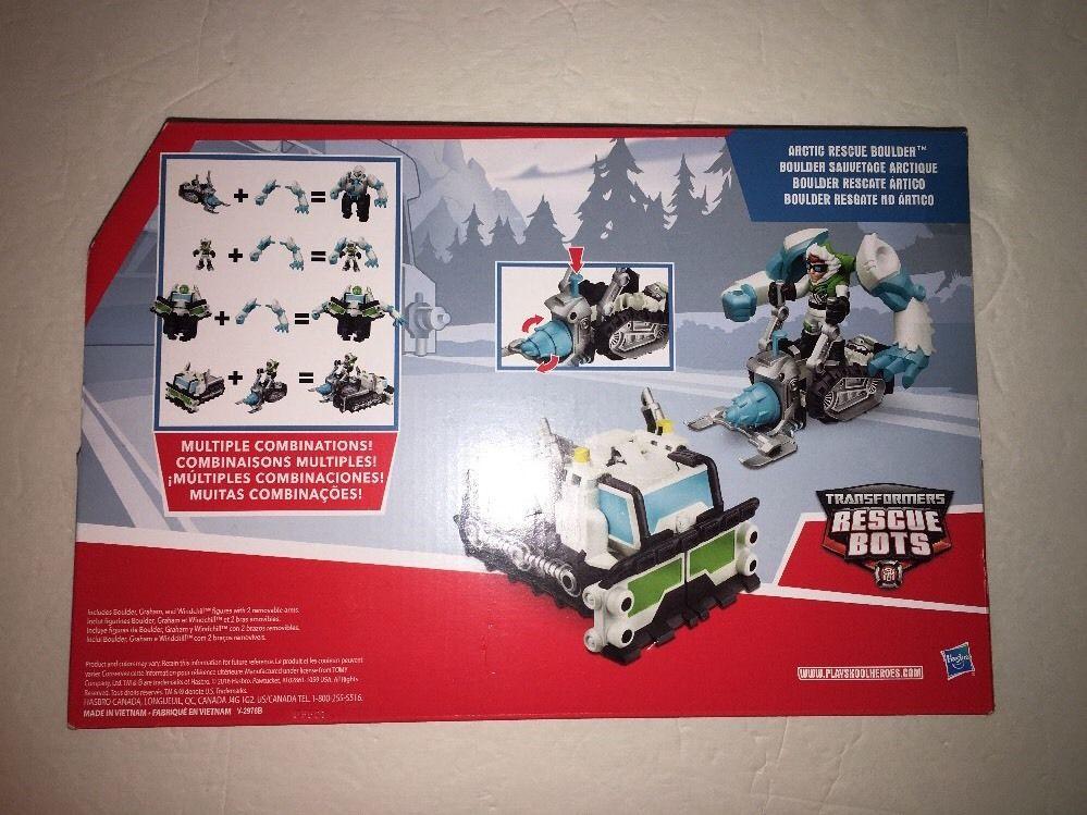 Transformers Rescue Bots Arctic Boulder