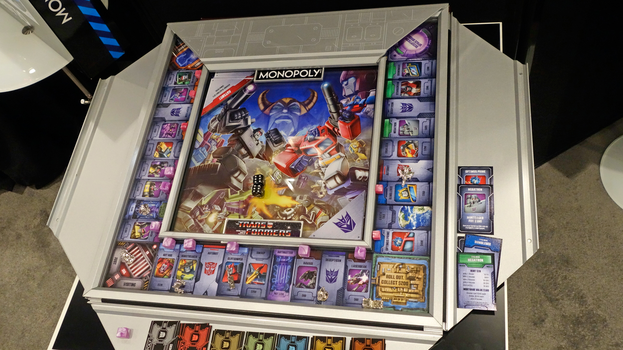 Transformers Monopoly Board Game By Winning Solutions