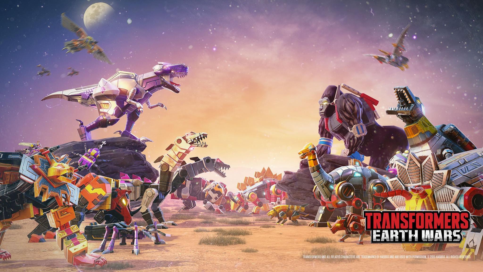 Transformers Earth Wars Beast Wars Saga Update Simon
