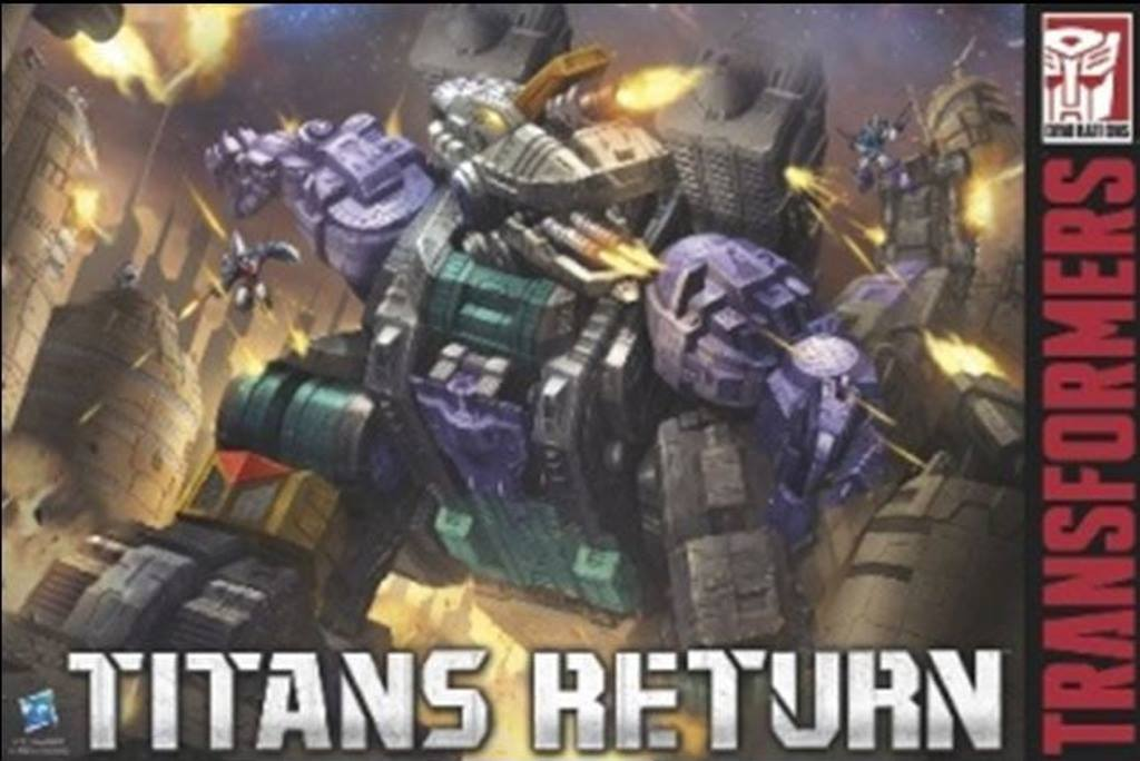 Titans Return Trypticon Box Art Transformers News Tfw2005