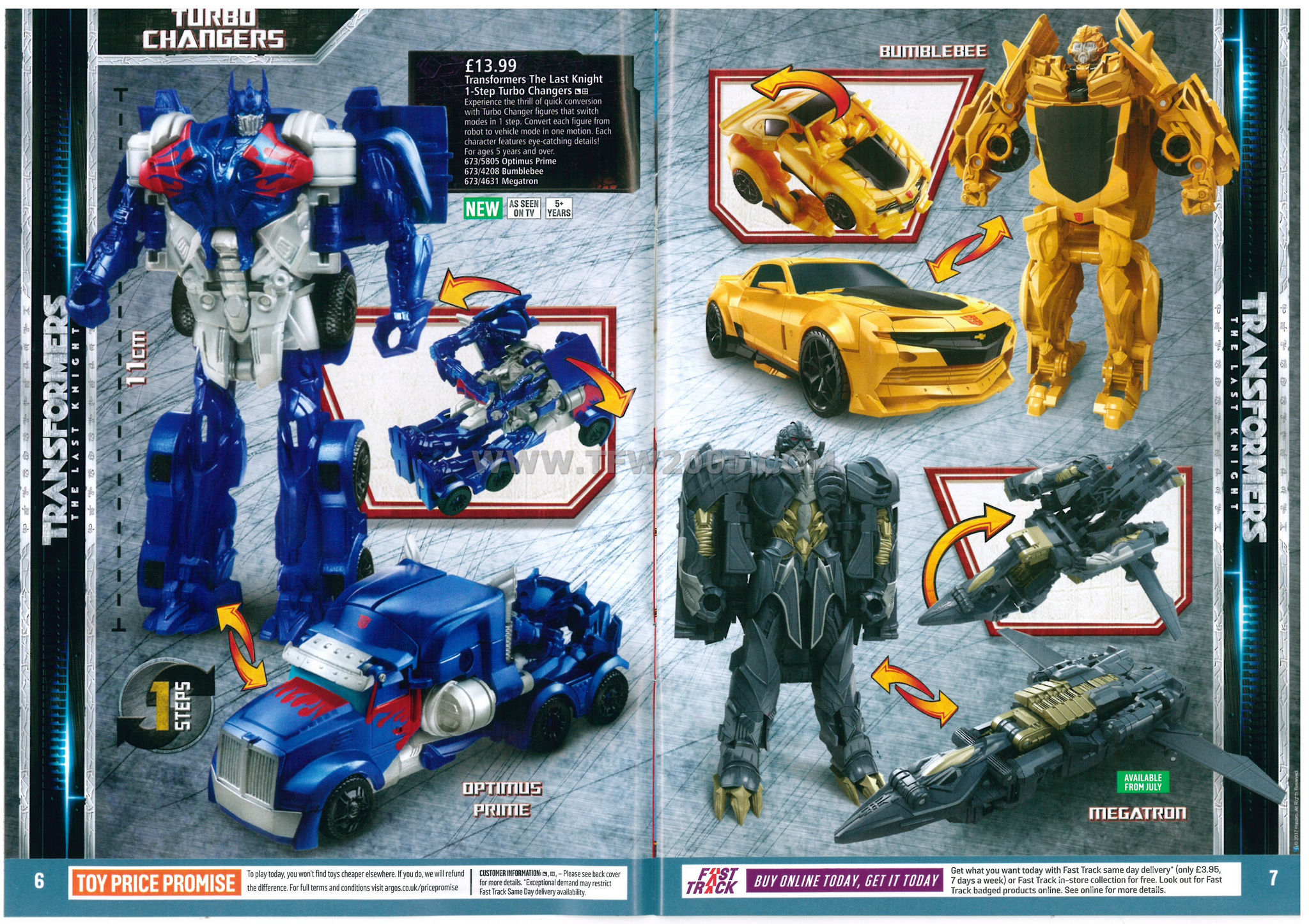 Transformers The Last Knight Argos Catalog Scans with High