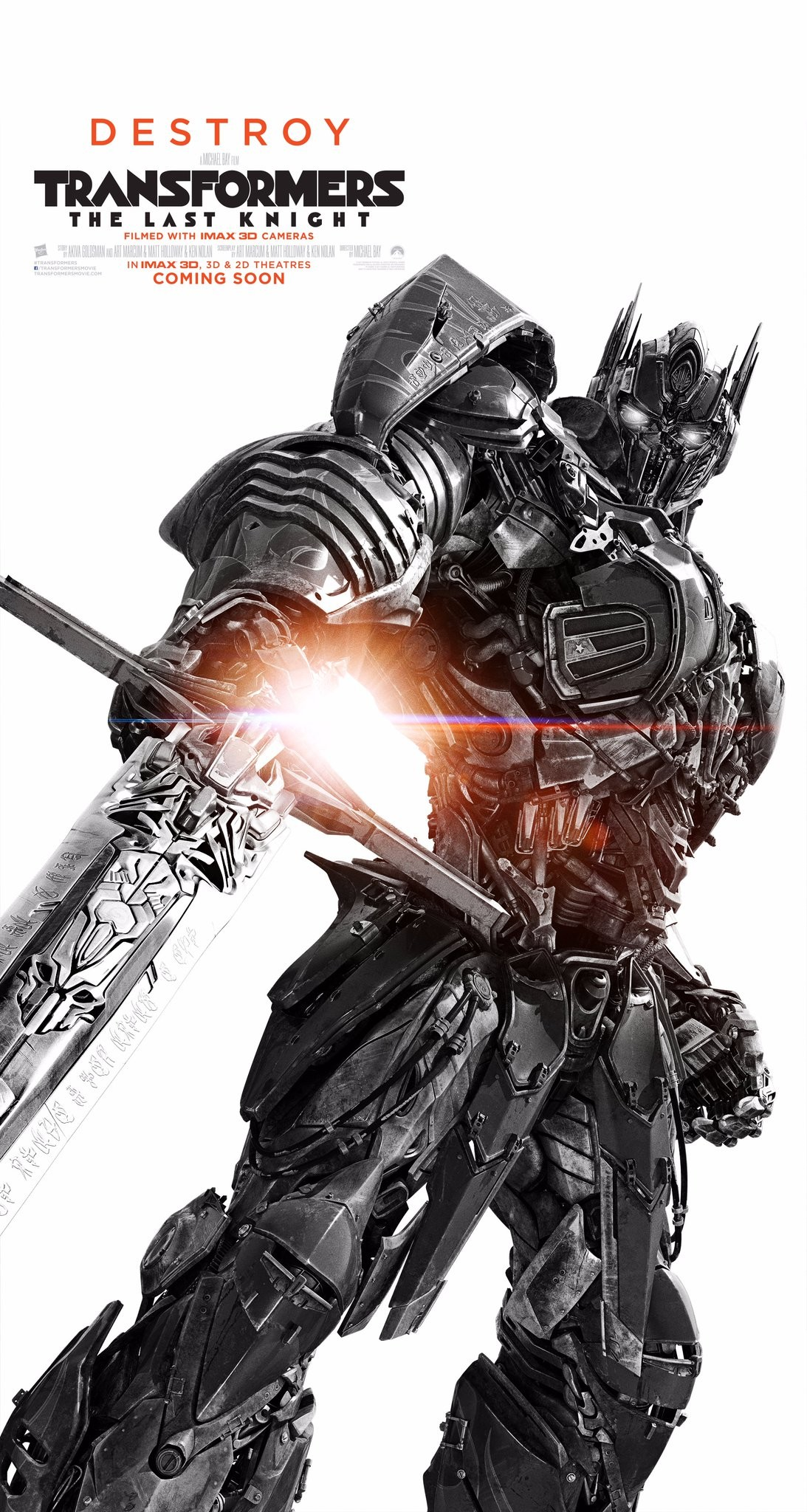 more new transformers the last knight posters