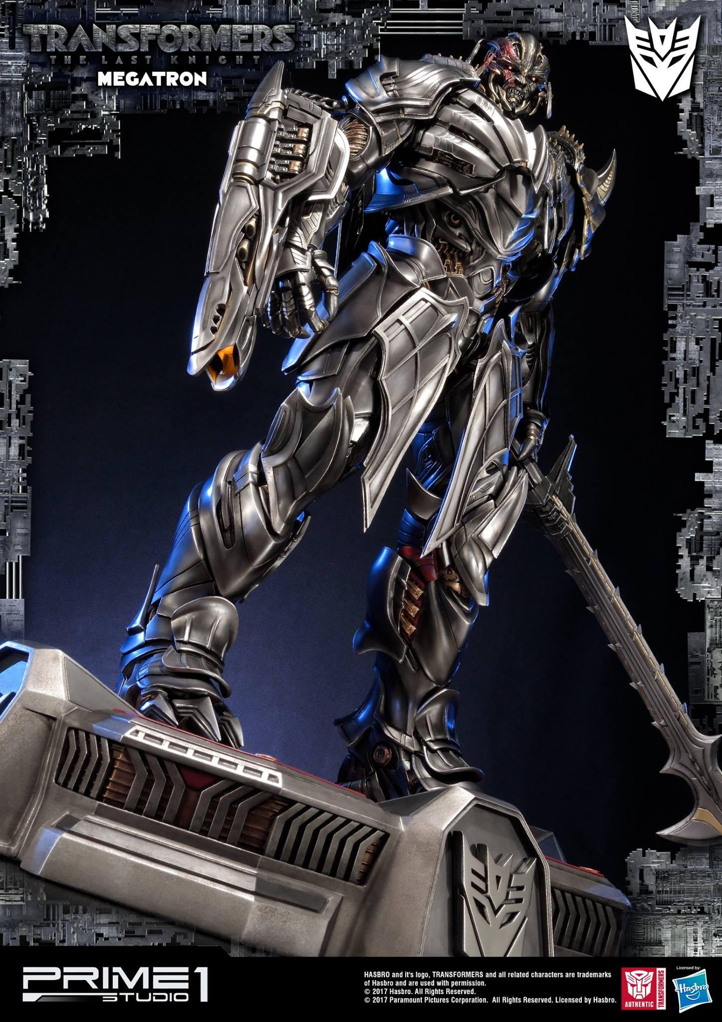 Prime 1 Studios The Last Knight Megatron Statue ...