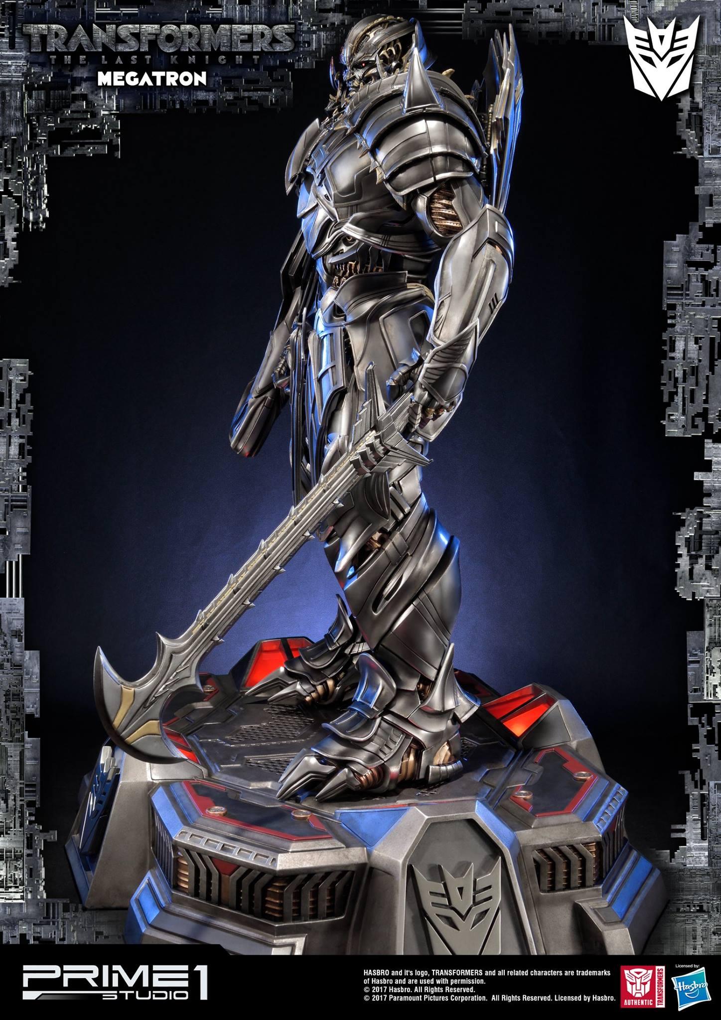 prime 1 studios the last knight megatron statue
