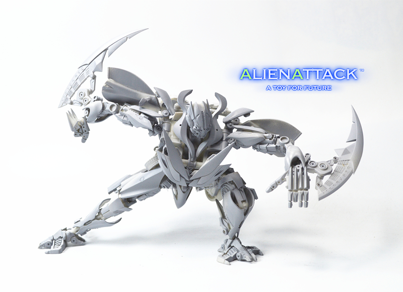 Prototype Images from Alien Attack Toys