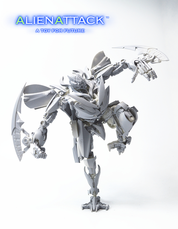 Prototype Images From Alien Attack Toys Stf 01 Firage