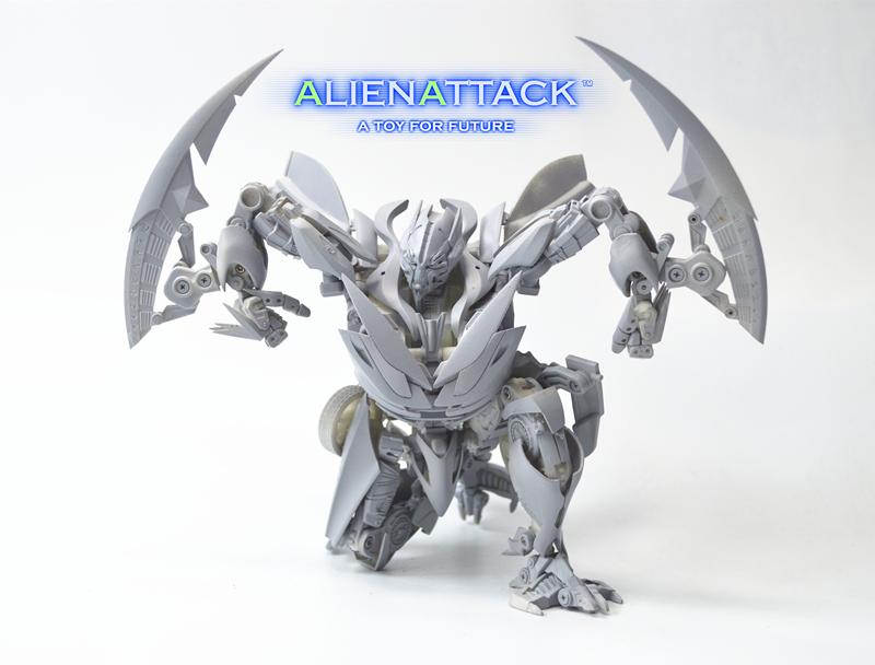 AlienAttack Toys AAT SFT-01 FIRAGE DINO Figure Robot