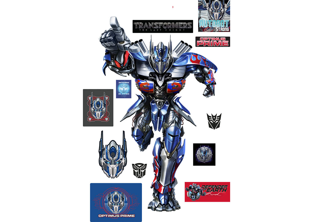 Dino Wall Stickers Transformers The Last Knight Fathead Vinyl Wall Decals