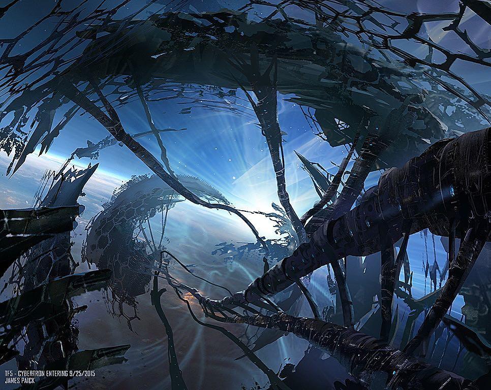 transformers the last knight concept art  canopy drift