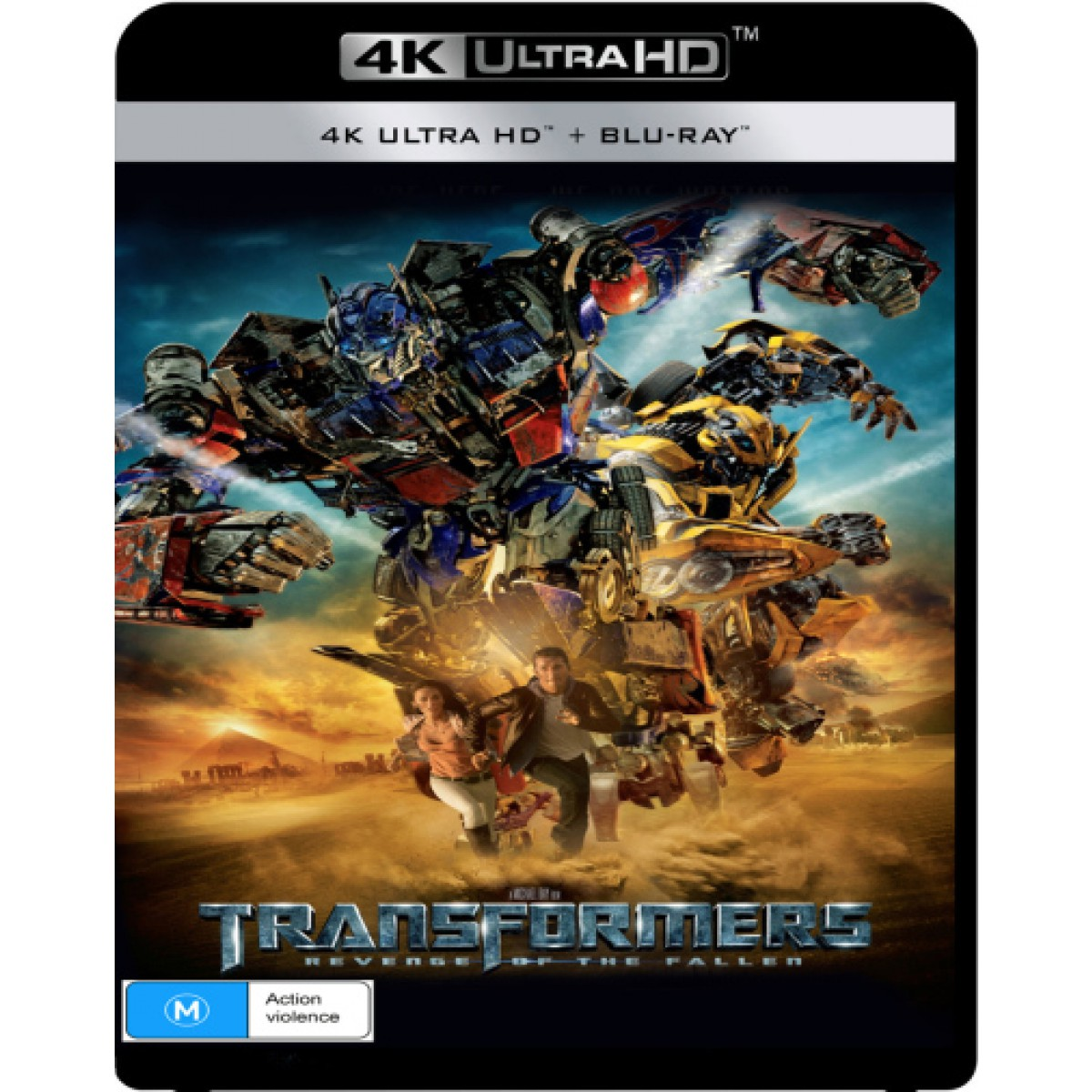 Transformers All 4 Live-Action Films Coming To 4K Blu-Ray
