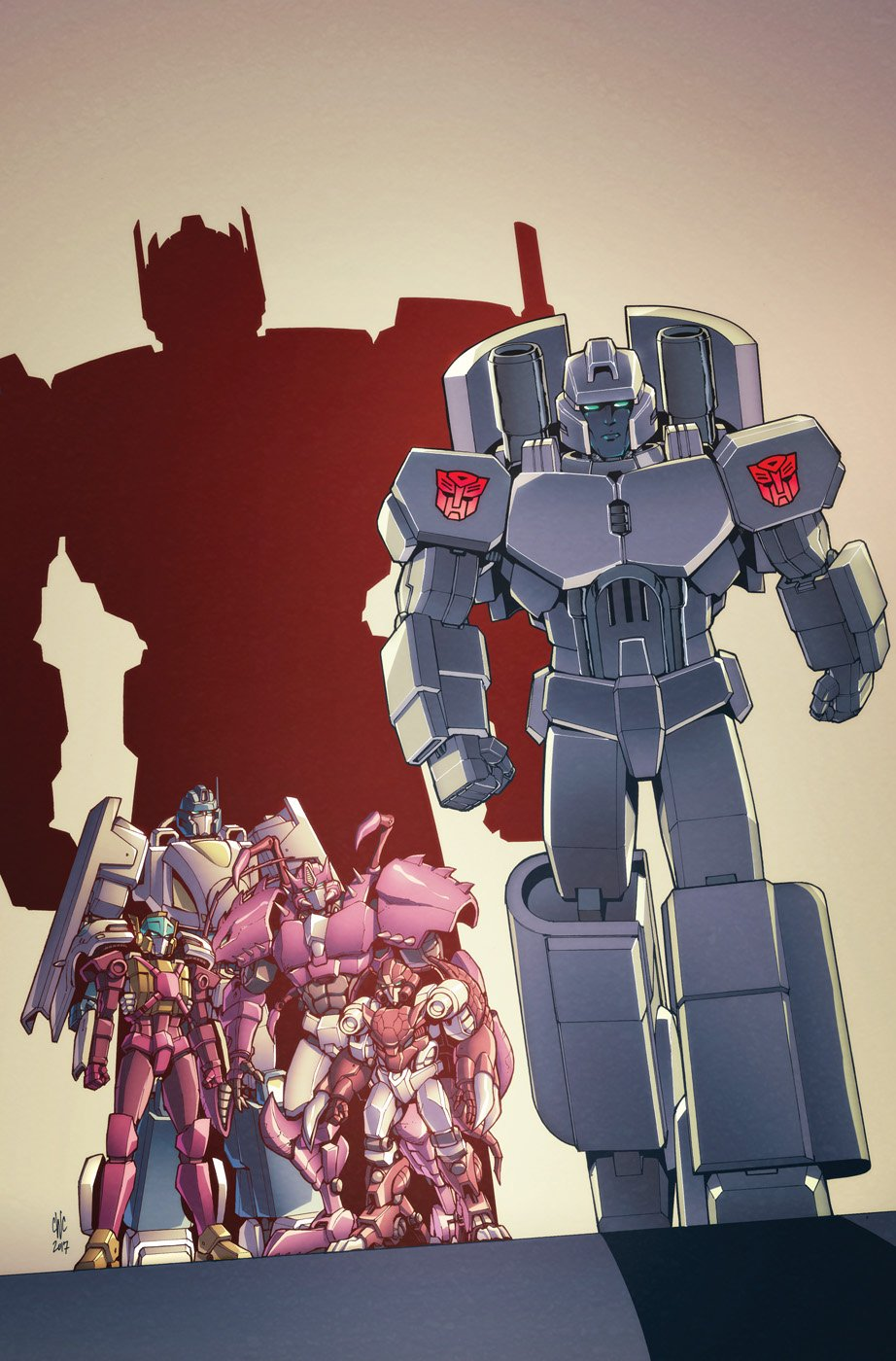 Credit Clean Up >> IDW Transformers: Optimus Prime #11 Cover B Clean Version & Lineart - Transformers News - TFW2005