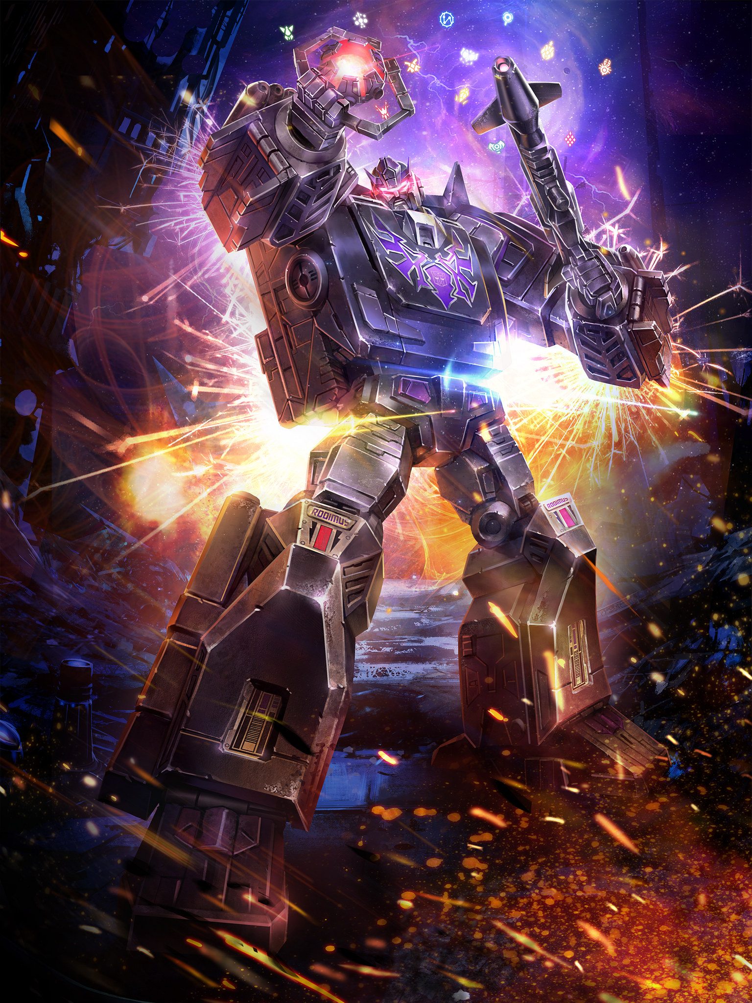 Power Of The Primes Rodimus Unicronus Windcharger