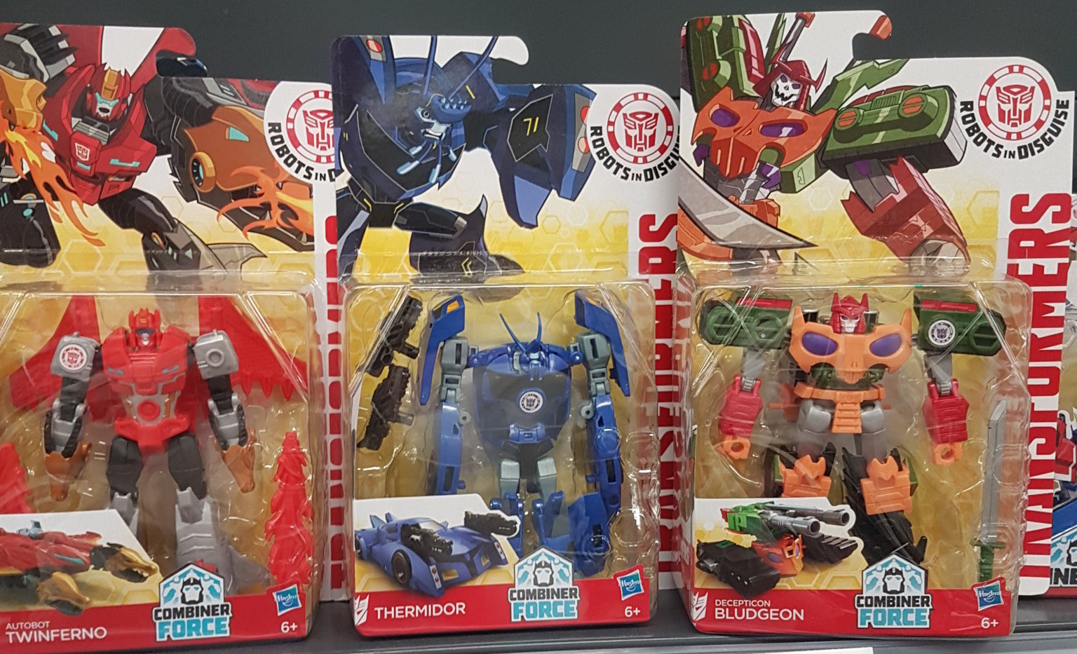 Transformers Robots in Disguise RID NEW Warrior Class