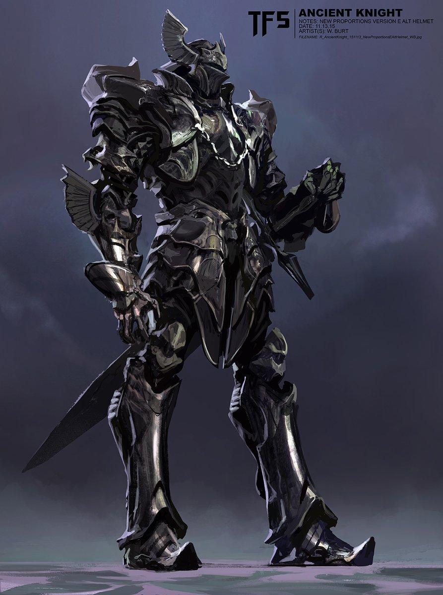 transformers the last knight concept art vatti bot
