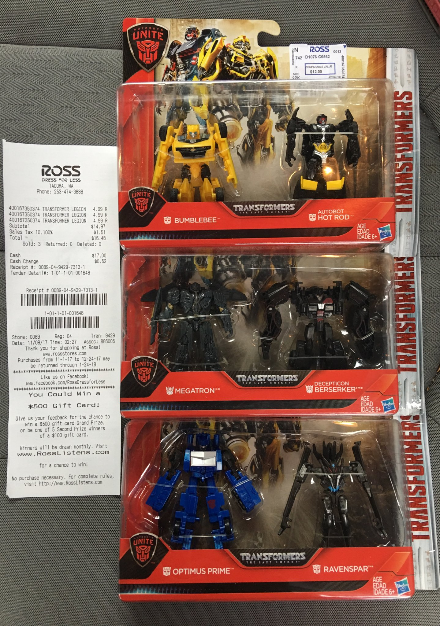 Transformers The Last Knight Autobots Unite Legion Class