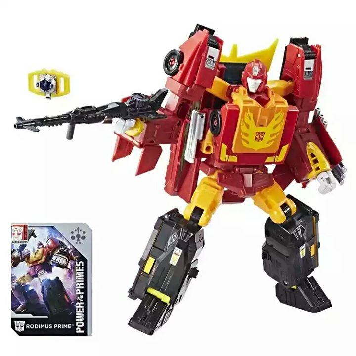 Power Of The Primes Rodimus And Optimus Prime More Stock