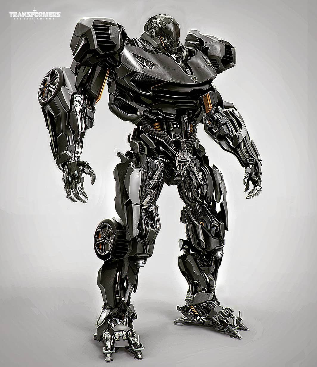 Transformers The Last Knight Concept Art: Hot Rod, Megatron & Decepticon Spaceship ...