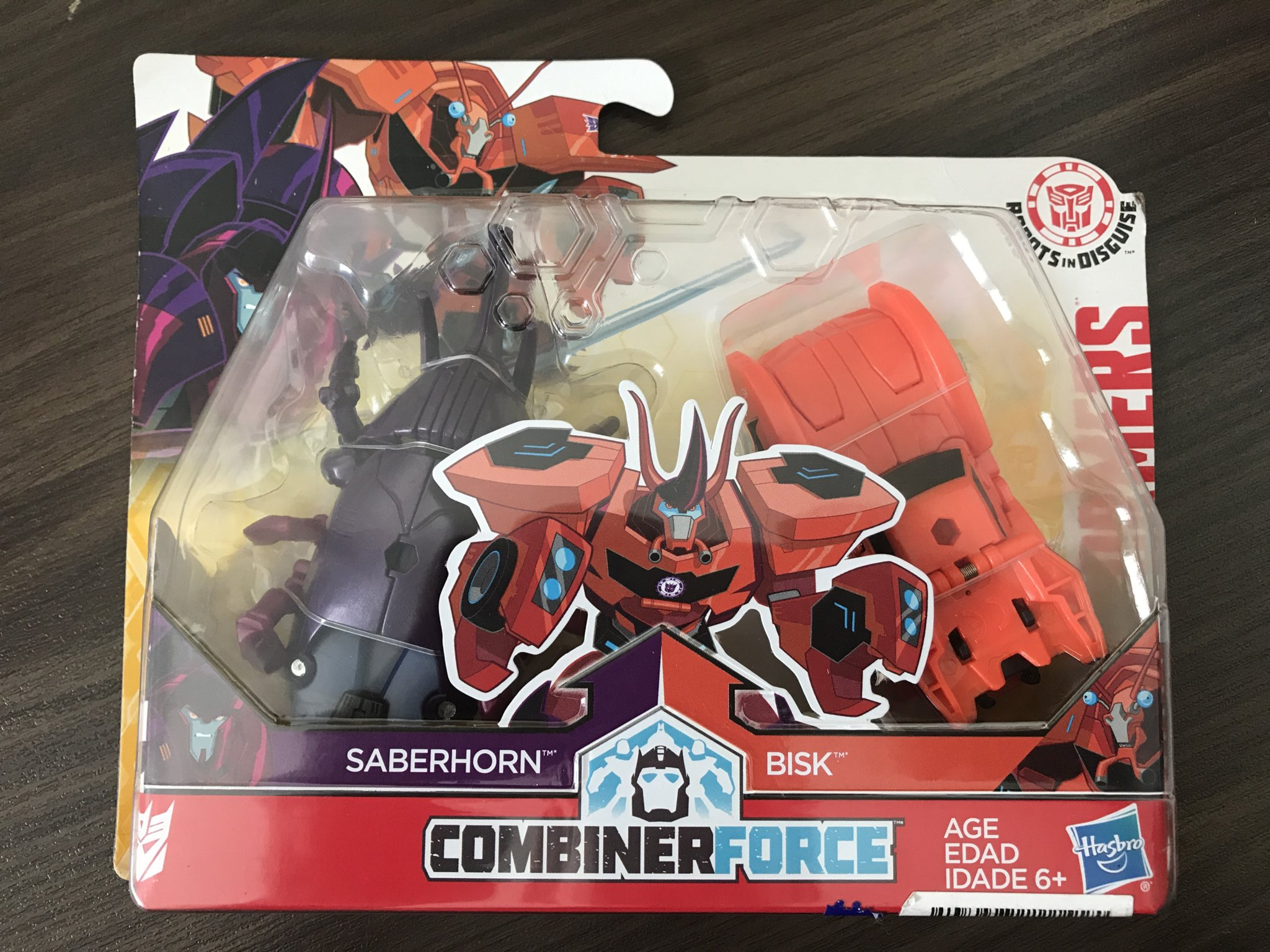 Transformers Robots In Disguise Crash Combiner Force Bisk Saberhorn Saberclaw