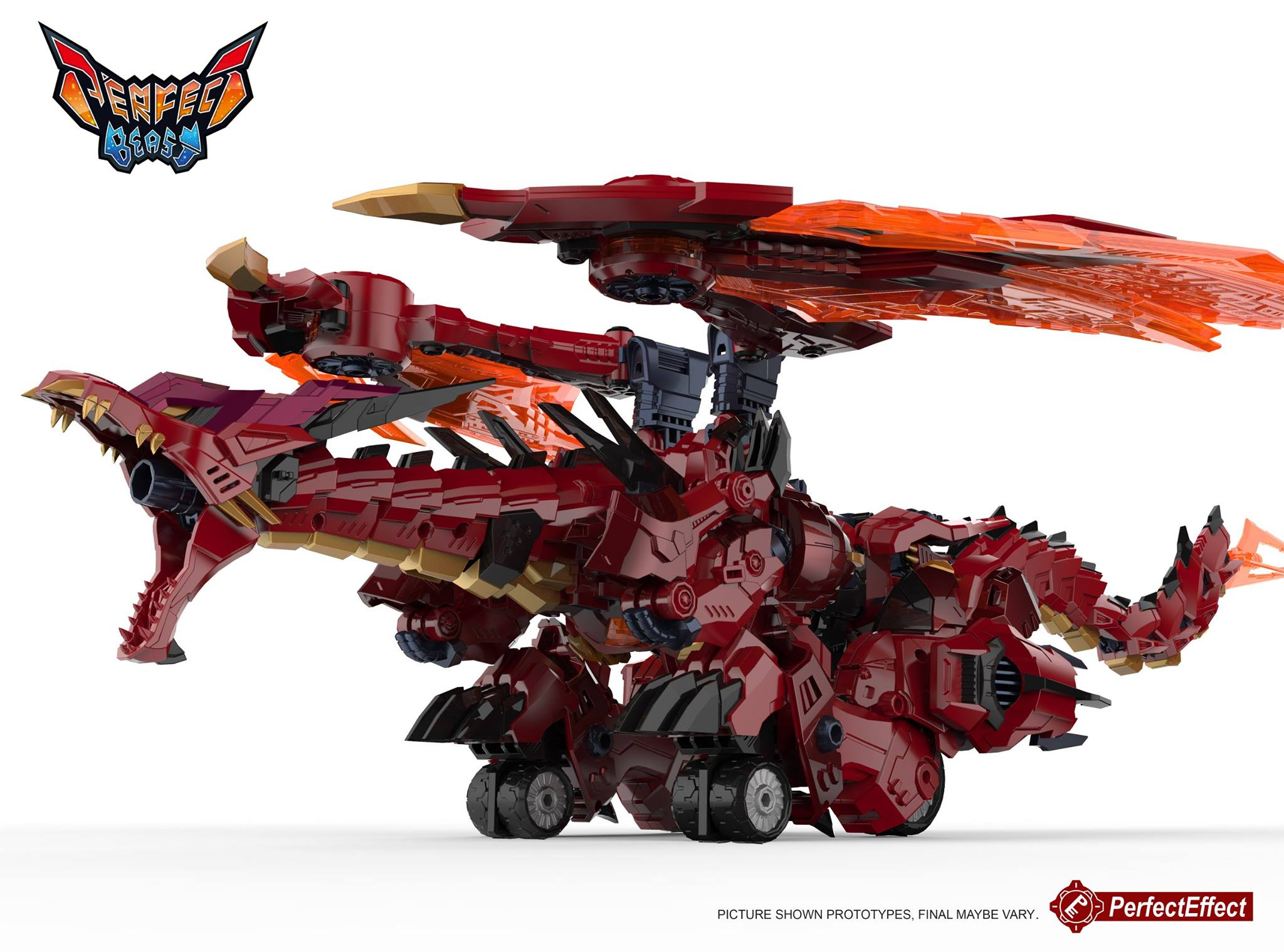 Perfect Effect PE-DX09 Mega Doragon Color Product Images ...