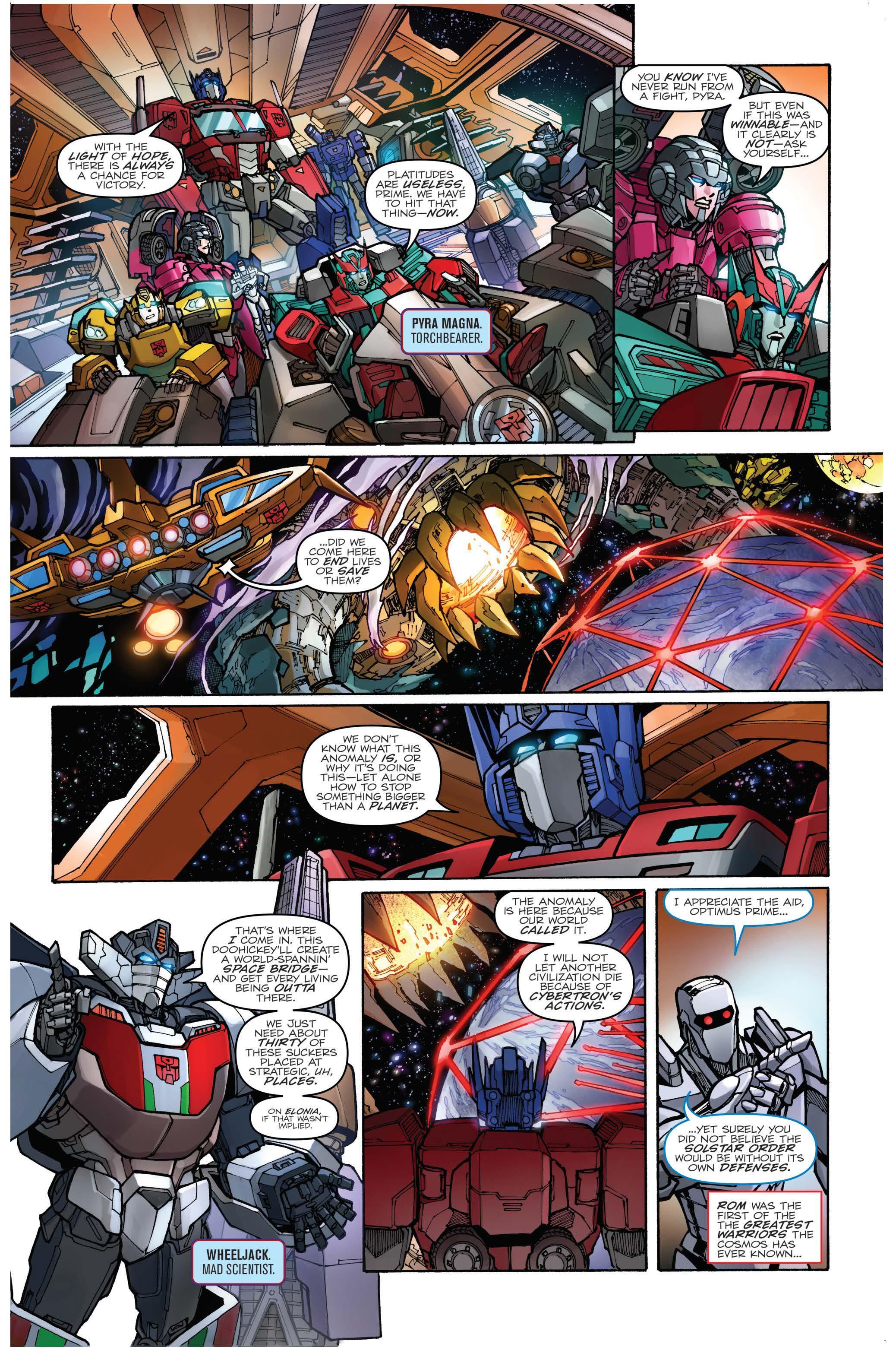 Unicron Transformers Prime IDW Free Comic Book Da...