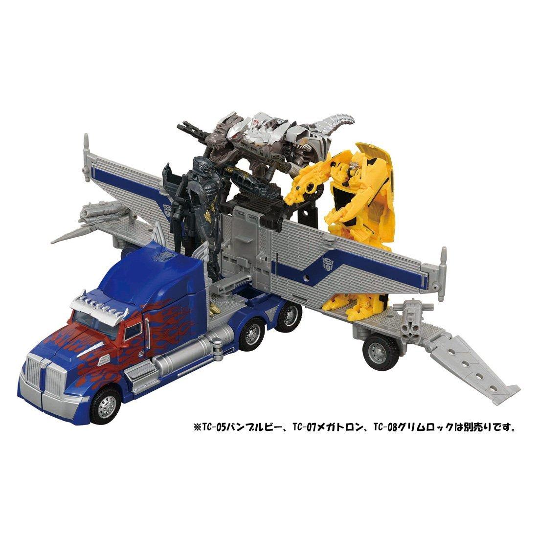 Transformers Turbo Change TC-01 OPTIMUS PRIME TC-02 BUMBLEBEE TC-03 MEGATRON TOP