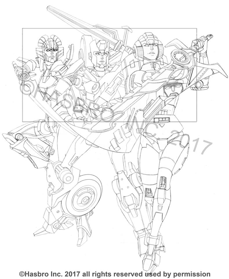 aerialbots coloring pages - photo#19