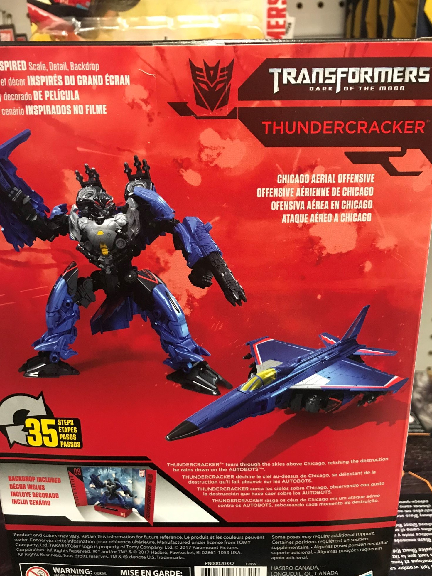 Credit For Bad Credit >> Studio Series Thundercracker Toys R Us Exclusive Revealed ...