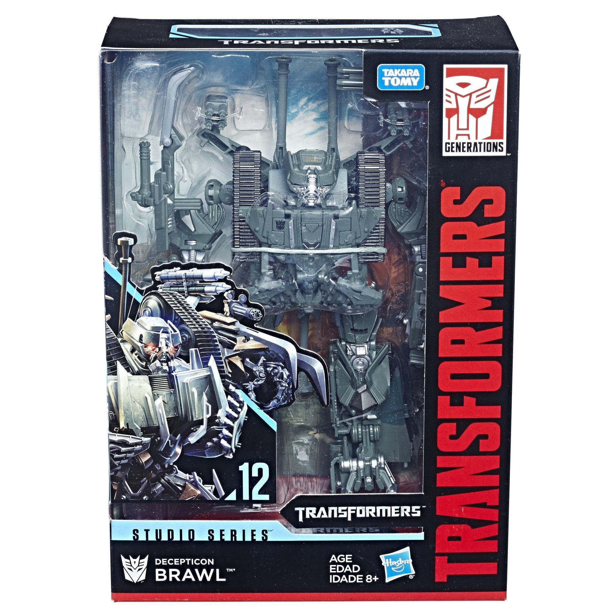 transformers movie studio series megatron and brawl stock