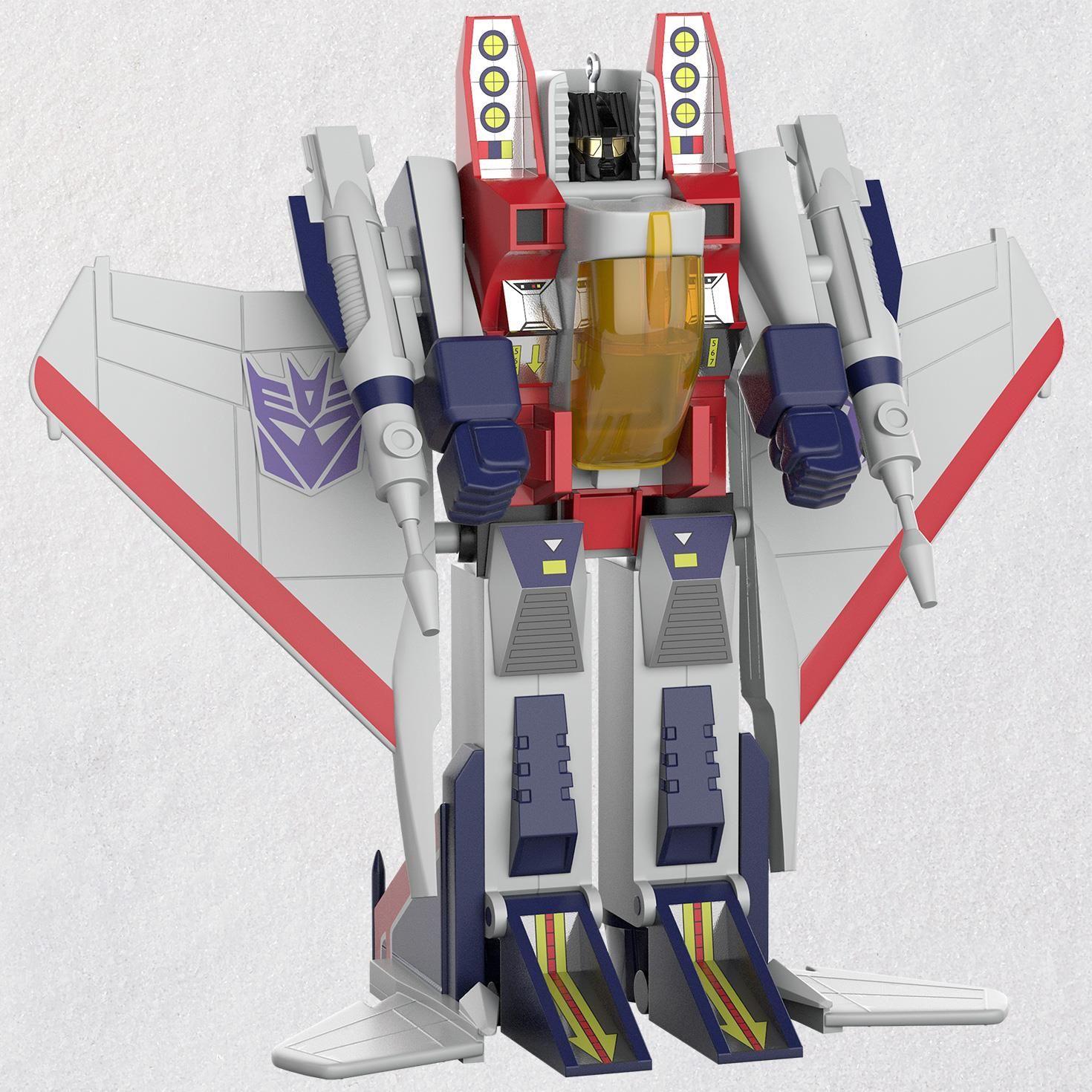 Hallmark Transformers G1 Starscream Christmas Ornament