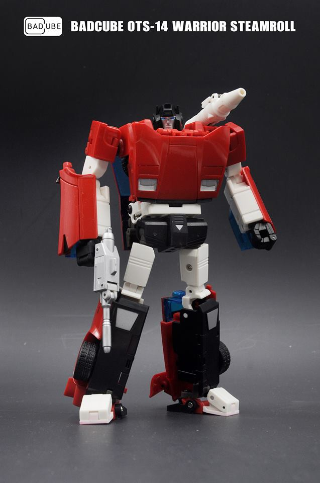 Transformers toy BadCube OTS-15 Security Directo Recon G1 Redalert!