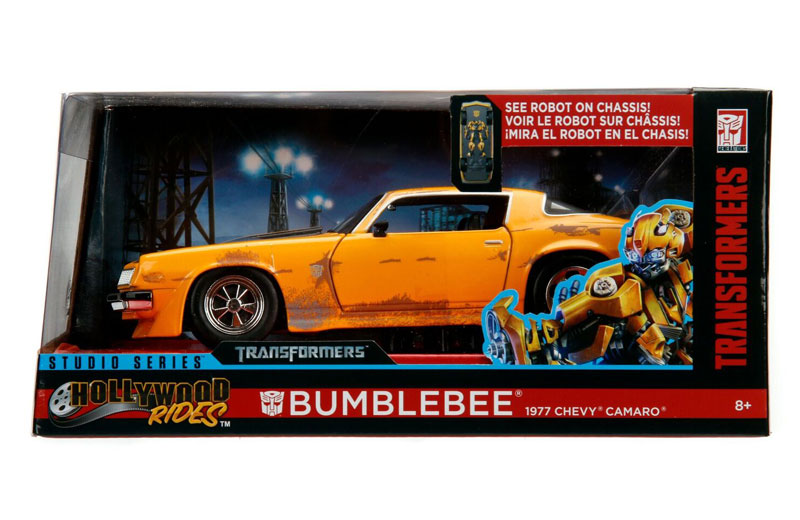 Jada Toys Studio Series Hollywood Rides Bumblebee 2006 And