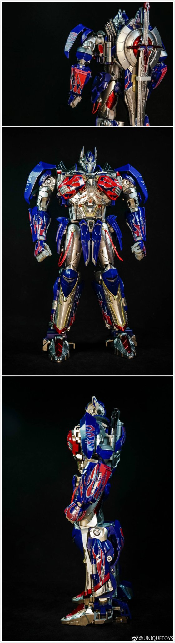 Transformers Unique Toy UT R-02 Challenger Knight Optimus Prime New In Stock New