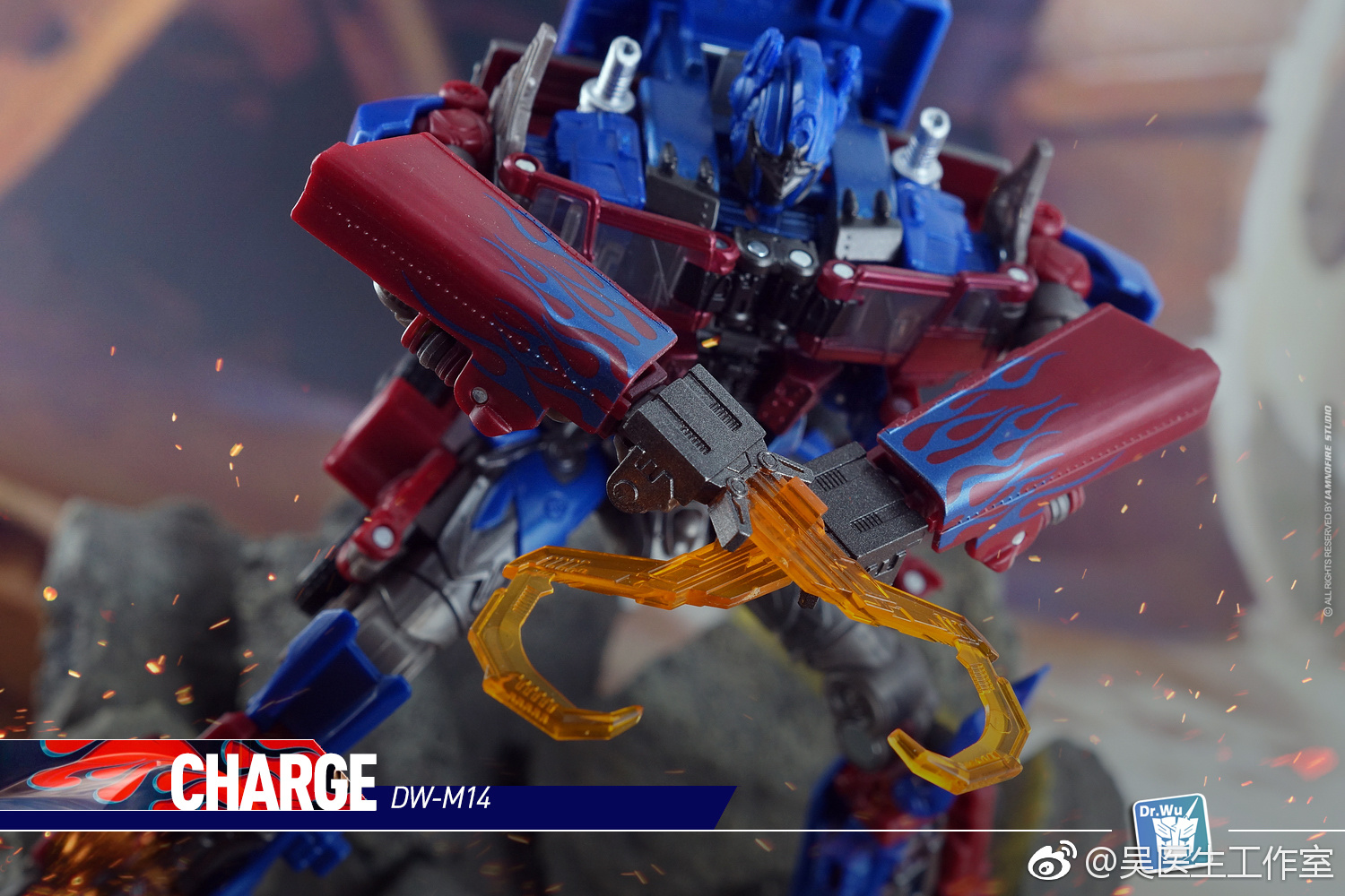 Transformers Dr.Wu M-13 Attack Weapon set for Studio Series OP In stock