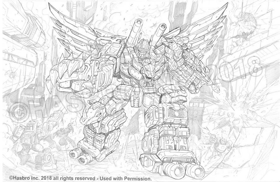 Predaking transformers coloring pages ~ Transformers Power Of The Primes Packaging Art By Marcelo ...