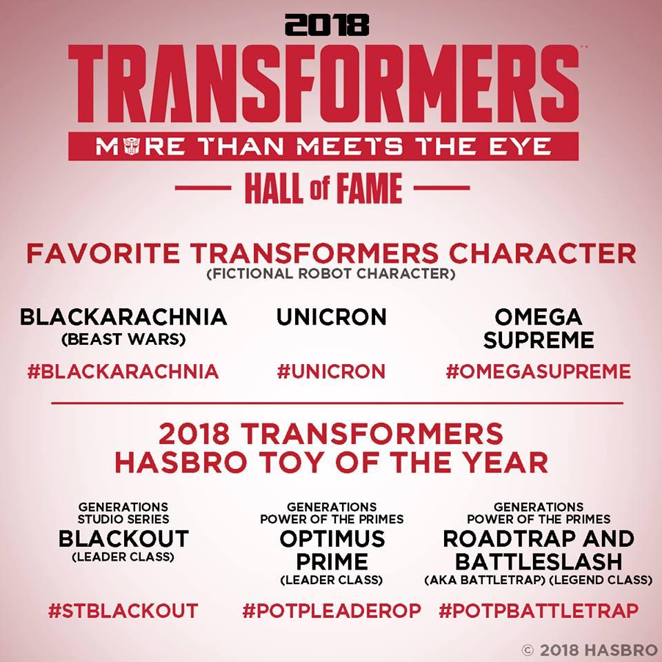 Temple de la Renommée Transformers: À vos votes! - Page 5 Transformers-Hall-of-Fame-2018-Vote