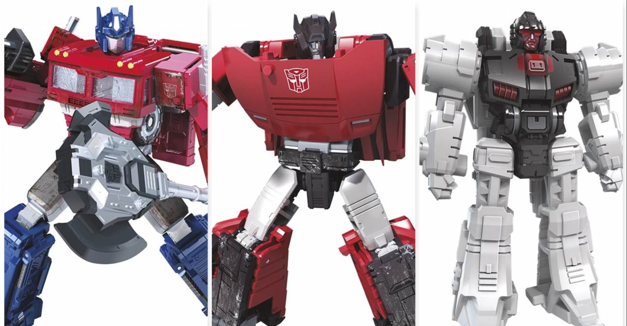Transformers Generations War for Cybertron Figures Revealed
