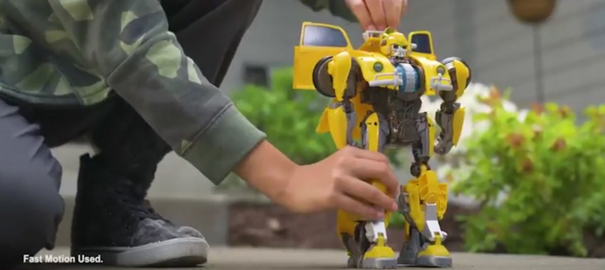 ce385a2e97cf Hasbro s YouTube posts Transformers Power Charge Bumblebee Commercial -  Additional Images. PBee1
