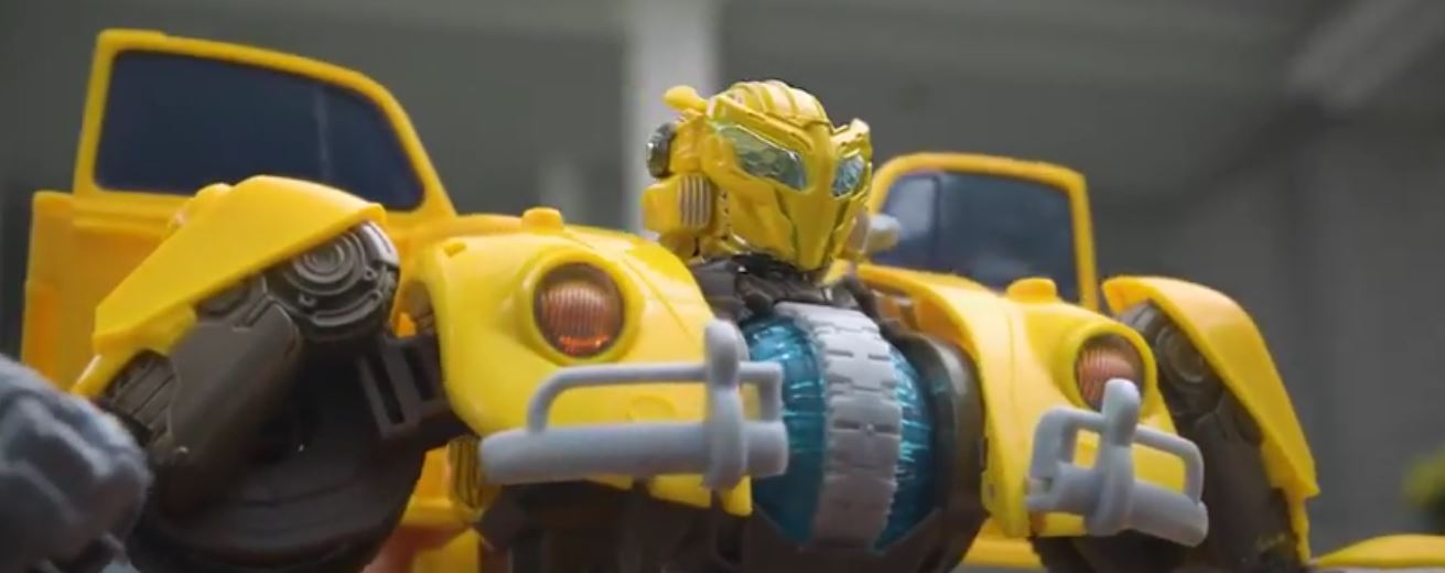 hasbros youtube posts transformers power charge bumblebee commercial transformers news tfw