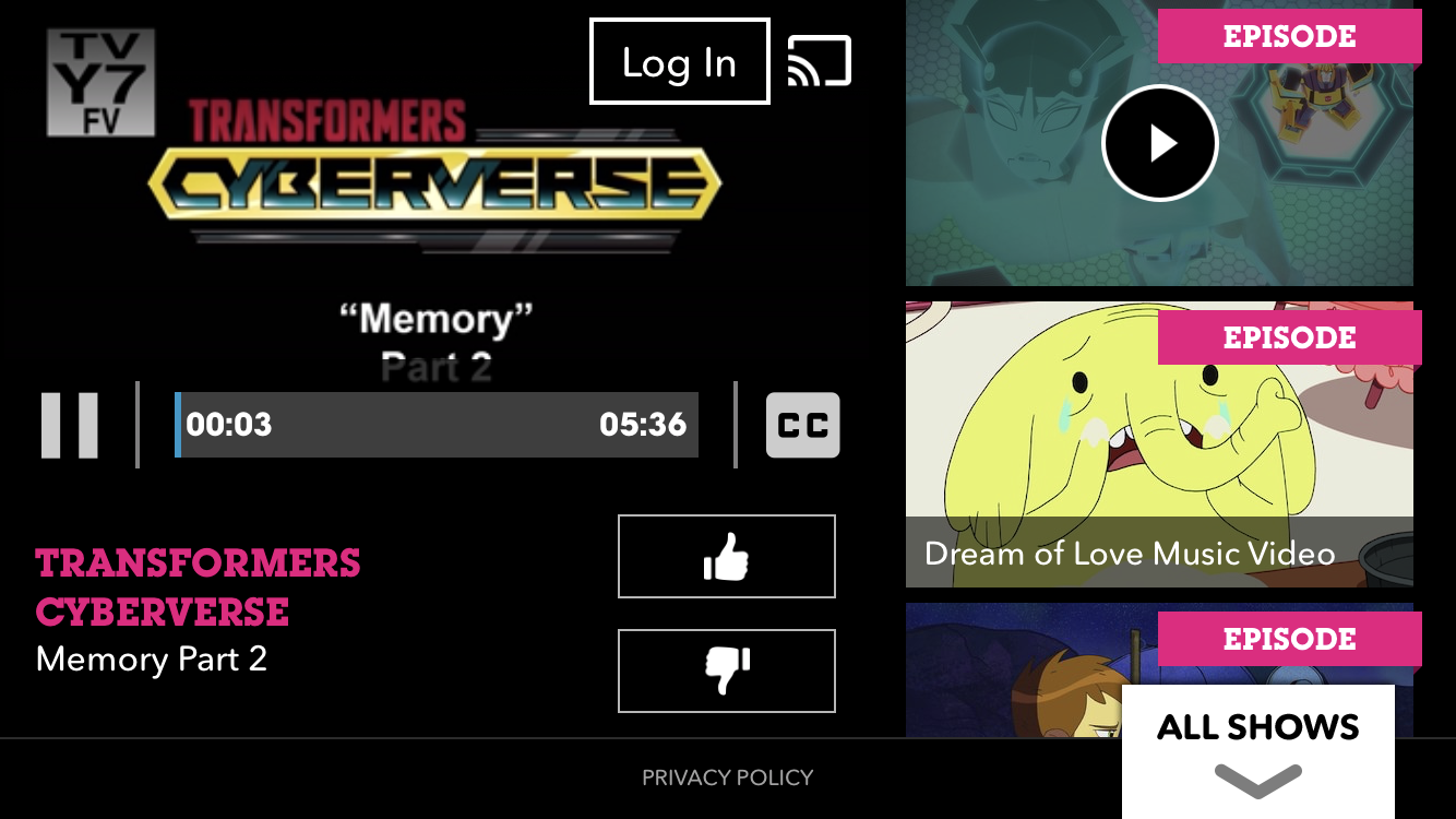 First Two Episodes Of Transformers: Cyberverse Available On