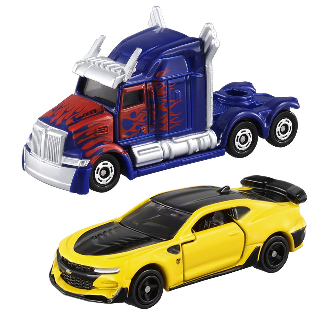 Tomica The Last Knight Optimus Prime & Bumblebee Cars