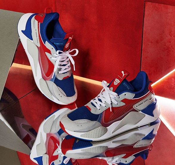 Transformers x Puma Product Released