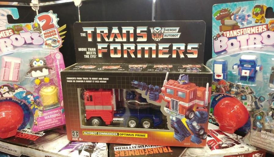 Transformers G1 OPTIMUS PRIME Re-issue Toy Figure Collection SET MISB Brand NEW.
