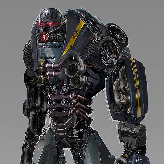 Bumblebee Movie Concept Art Round Up Transformers News