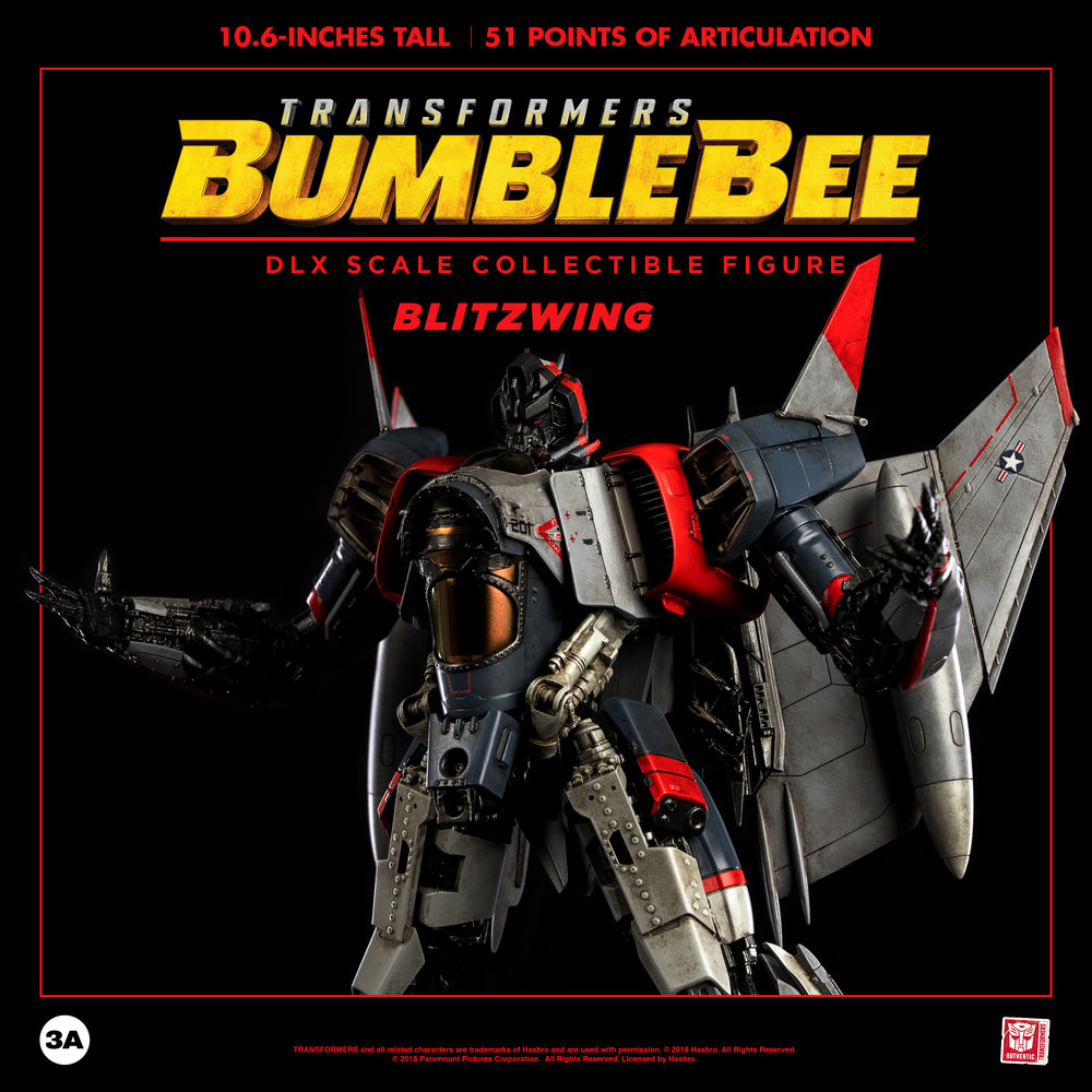 3a dlx blitzwing from the bumblebee movie official new images and description transformers - Images of bumblebee from transformers ...