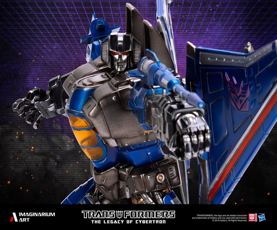 Imaginarium Art Thundercracker Statue Final Images